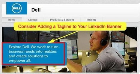 12 LinkedIn Branding Tips For Small Businesses | Advice for your Business | Scoop.it