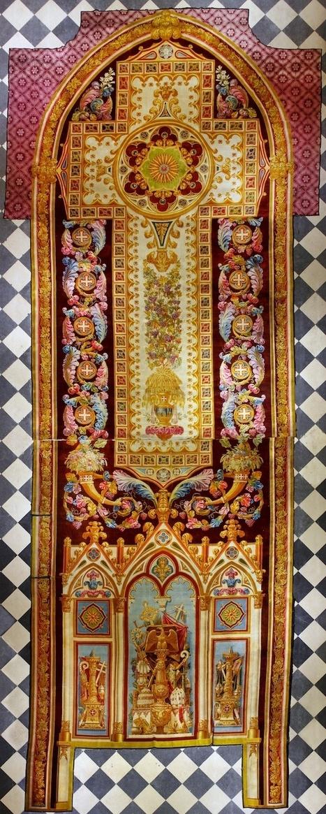 [Notre-Dame de Paris] Tapis monumental du chœur | Paris pepites | Scoop.it