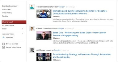 Is Google+ Part of Your YouTube Marketing Strategy? - Business 2 Community | Youtube Stats, Strategies + Tips | Scoop.it