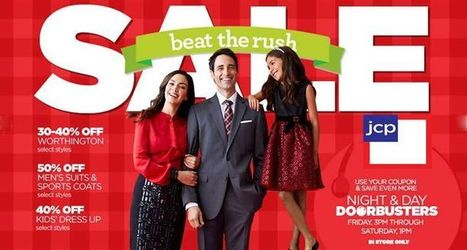 Jcpenney Coupons Beat The Rush Holiday Sale | Fashions And Deals | Scoop.it