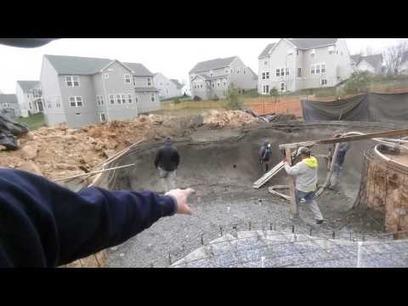 Frederick Maryland Gunite Concrete Custom Pool   Browning Pools & Spas   Scoop.it