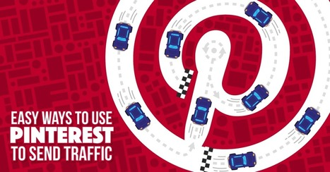 4 Easy Ways to Use Pinterest to Send Traffic To Your Site | Pinterest | Scoop.it