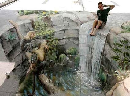 Arte: 3D a la tiza | Por amor al arte | Scoop.it