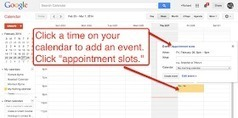 Free Technology for Teachers: How to Create Appointment Slots in Google Apps Calendars | Ict4champions | Scoop.it