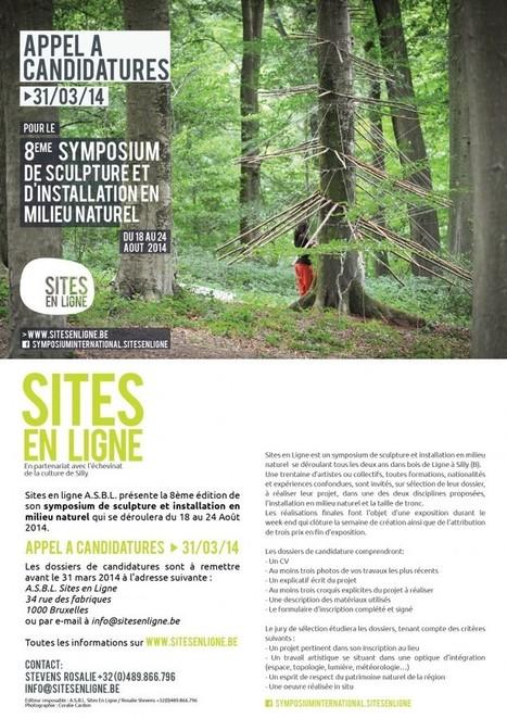 Appel à candidatures pour le 8ème Symposium – Aout 2014 | SITES EN LIGNE | accompagnement artistes | Scoop.it