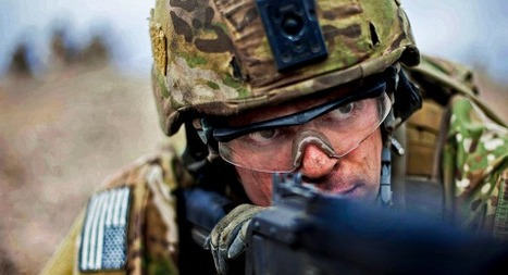 A U.S. Army Ranger during a company live fire training at Camp Roberts, Calif. | Transitional housing in place and transitional service for female vets in MI | Scoop.it