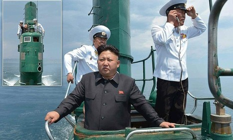 Kim Jong Un heads out to sea to 'teach navigation methods to captain' - Daily Mail | North Korean Bits 'n Pieces | Scoop.it