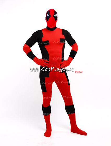 Quality 2013 Design Unisex Deadpool Costume,Black and Red Deadpool Costume | deadpool costume | Scoop.it