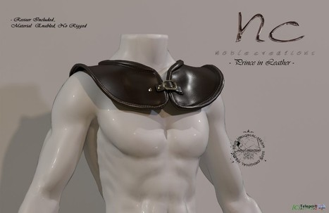 Prince in Leather Group Gift by Noble Creations | Teleport Hub - Second Life Freebies | Second Life Freebies | Scoop.it