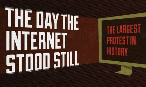 The Day the Internet Stood Still (Infographic) | Coolios best infographics and videographics | Scoop.it