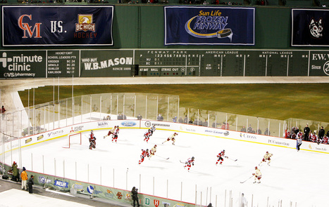 Fenway Park to host college hockey again - Boston Globe | College and Wisconsin High School hockey | Scoop.it