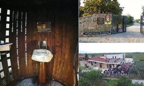 Italian town unveils wine fountain where visitors can drink for FREE | Urban eating | Scoop.it
