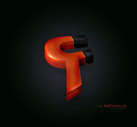 27 Creative 3D Concepts Logos From DeviantArt Gallery | timms brand design | Scoop.it