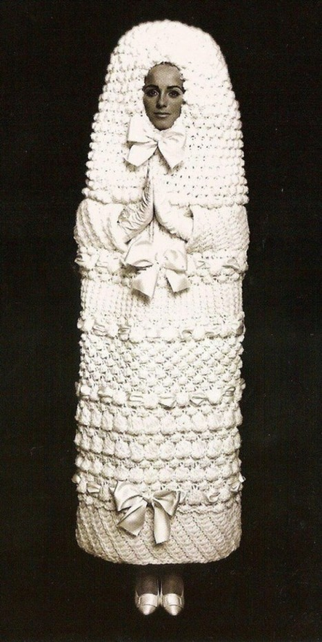 Yves Saint Laurent Wedding Dress - Retronaut | Interesting Photos | Scoop.it