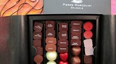 Dans le ballotin de Pierre Marcolini   Carine et la chocolaterie   Pierre Marcolini   Scoop.it