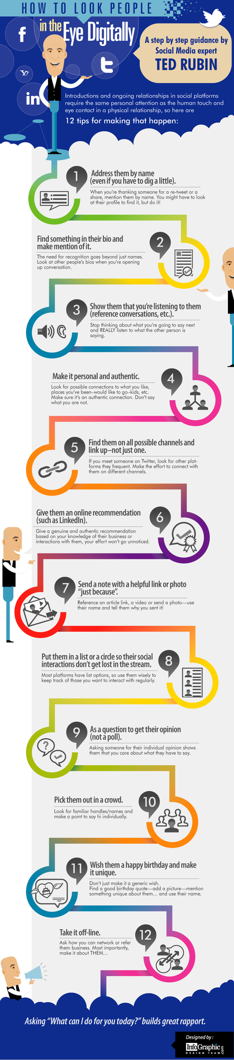 How to Look People in the Eye Digitally - InfoGraphic | Time to Learn | Scoop.it