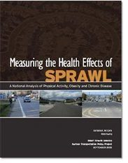 Measuring the Health Effects of Sprawl   Placemaking   Scoop.it