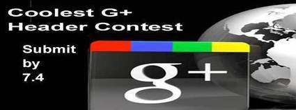 Coolest Google Plus Header Contest: Enter By 7.4 | Contests and Games Revolution | Scoop.it
