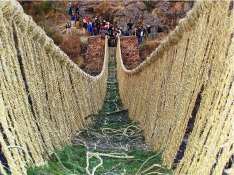 Puente Queswachaca sería reconocido como patrimonio cultural de la humanidad | Literatura | Scoop.it