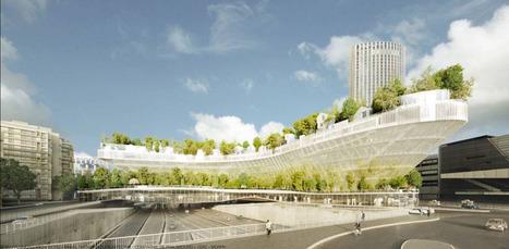 Planter 1000 arbres au-dessus du périphérique, c'est le pari un peu FOU de Sou Fujimoto et OXO architectes,- Cyberarchi | The Architecture of the City | Scoop.it