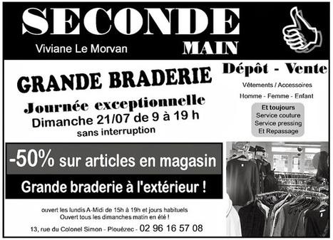 Publiannonce : petites annonces gratuites et publicités locales sur le 22: Grande Braderie chez Seconde Main à Plouézec   Publiannonce   Scoop.it