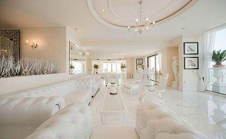 Thiết kế nội thất penthouse thanh lịch và rộng rãi   Sữa ong chúa tươi   Scoop.it