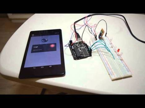 Control Arduino Projects with Your Voice and an Android Phone | FabLab - DIY - 3D printing- Maker | Scoop.it