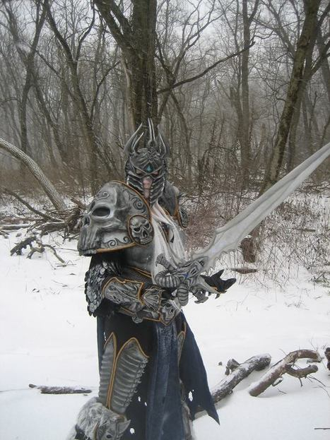 World of Warcraft Frostmourne with Arduino and LED Touches | Raspberry Pi | Scoop.it