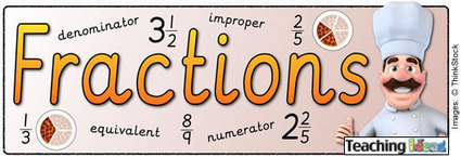 Maths - Fractions Teaching Ideas | Resources for primary Mathematics | Scoop.it