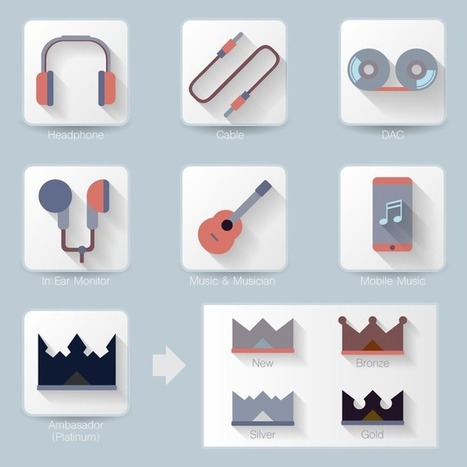 Help me choose my new Headphones Game Icons design! VOTE NOW! | Curation Revolution | Scoop.it