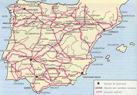 Historia Explicada Fácil: Las calzadas romanas en Hispania   Enseñar Geografía e Historia en Secundaria   Scoop.it
