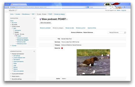 Moodle plugins directory: Pcast   elearning stuff   Scoop.it