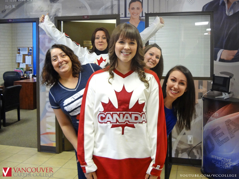 Cheer for Canada at the Vancouver Career College Kelowna Campus in British Columbia | Events at Vancouver Career College | Scoop.it