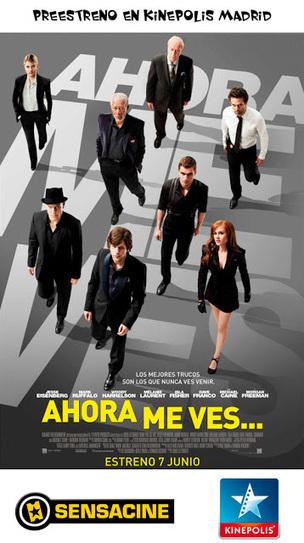 'Ahora me ves' en Madrid - World Cinema 7   Cinema   Scoop.it