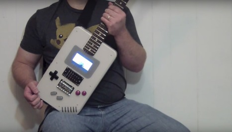 This Epic Raspberry Pi Project Combines an Electric Guitar with an Oversized ... - Lifehacker UK | Raspberry Pi | Scoop.it