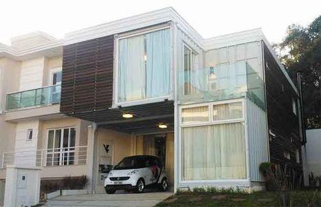 Casa de 240 m² feita com contêineres é inaugurada no Paraná | Digital Sustainability | Scoop.it