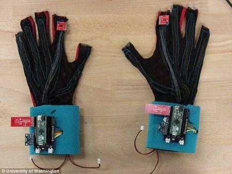 SignAloud, guantes que traducen el lenguaje de signos a palabras   Mobile Technology   Scoop.it