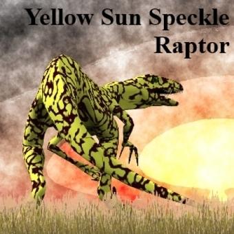 Sun Speckled Raptor | 3d Models | Scoop.it