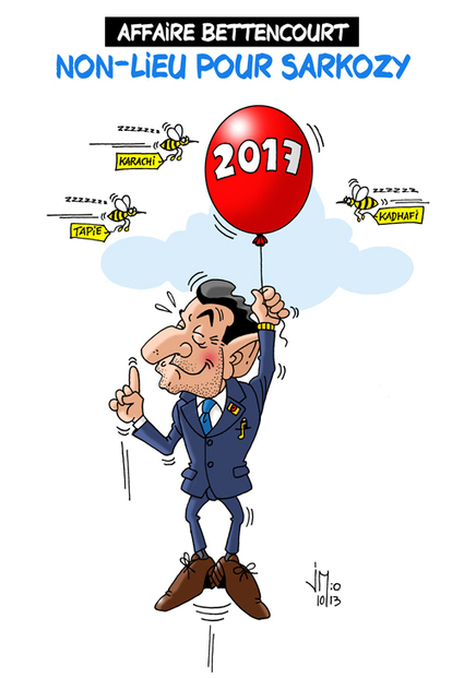 Non-lieu pour Sarkozy dans l'affaire Bettencourt | Le monde est flou | Scoop.it