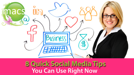 8 Tips to Improve Your Social Media Performance | Small Business On The Web | Scoop.it