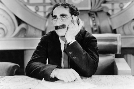 How Groucho Marx lost his voice and found his funny bone - The Register | News we like | Scoop.it