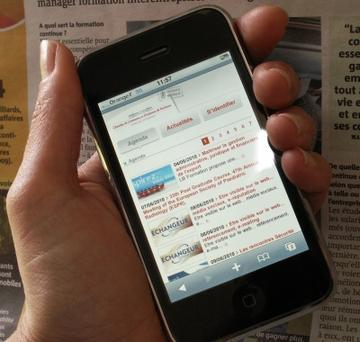 Fiche pratique nouveaux usages de la téléphone mobile par le Cybercentre de Guérande (44) | Ardesi - Accès public à Internet | Scoop.it