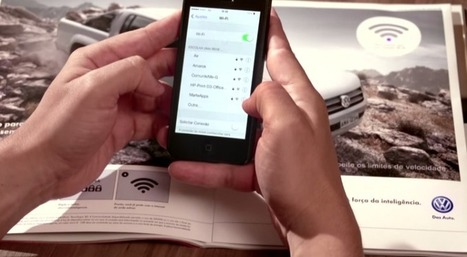 A magazine ad that offers free wifi | Digital Creatives | Scoop.it