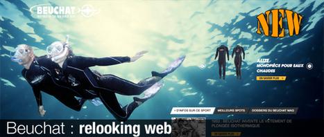 Nouveau site web Beuchat   La plongée sous-marine   Scoop.it