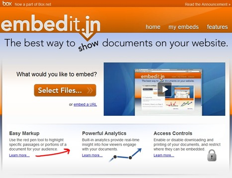 embedit.in — Any file, in your website   Time to Learn   Scoop.it