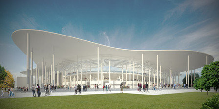 [RuchChorzow, Poland] Competition Entry: Football Stadium / Andrea Maffei Architects | The Architecture of the City | Scoop.it