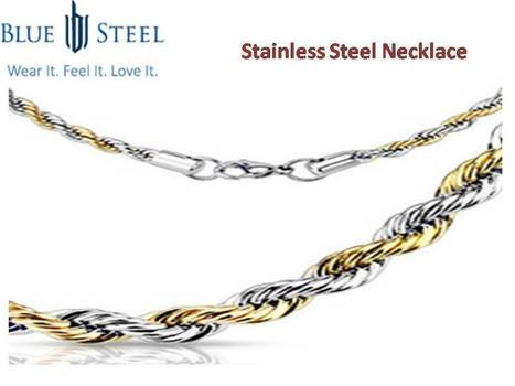 Amazing Stainless Steel Necklace   Stainless Steel Blue Rings   Scoop.it