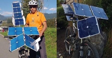 Bici elettrica a pannelli solari dal Canada - GreenStyle | biciclette elettriche | Scoop.it