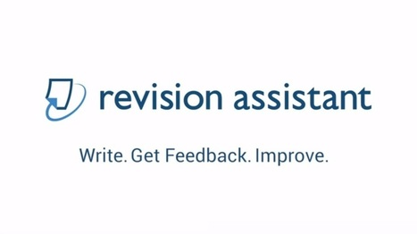 Revision Assistant : A New Writing Tool For Students In Higher Education | EdTechReview | Scoop.it