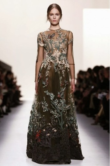 VALENTINO - Fall Winter 2014/15 - Paris Fashion Week | TAFT: Trends And Fashion Timeline | Scoop.it